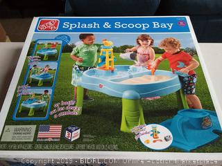 Step2 Splash N Scoop Bay Sand and Water Table, Ages 2+ years ($39.99)