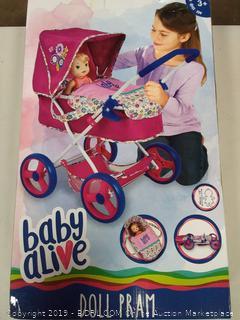 Baby Alive Classic Doll Pram