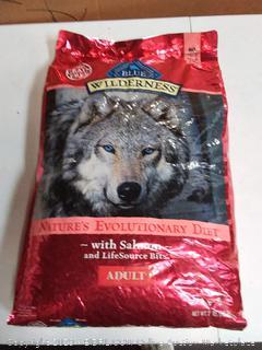Blue Buffalo Wilderness High Protein Grain Free, Natural Adult Dry Dog Food, Salmon 24-lb Bag