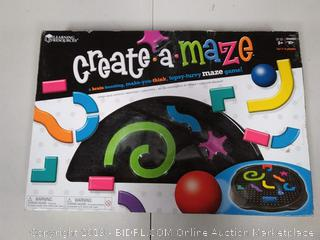 Learning Resources Create-A-Maze, Ages 5+