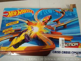Hotwheeles Criss Cross Crash Track Set (DISASSEMBLED) Ages 5-10