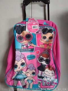 "LOL Surprise Girl's 15"" C Pilot Case- Rolling Luggage"