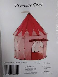 My Fair Princess Tent, Pink by Intents GT0014S