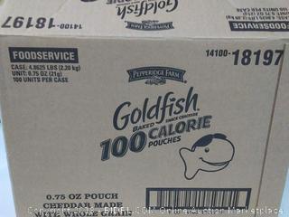 Pepperidge Farms Goldfish Crackers 100 Calorie Pouches