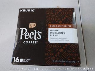 Peet's Coffee- Dark roast coffee- Major Dickanson's Blend