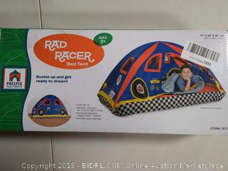 Pacific Play Tents 19710 Kids Rad Racer Bed Tent Playhouse (Online $37.63)