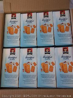 Quaker Breakfast Squares-  soft baked bars - peanut butter 8-10.5 cartons