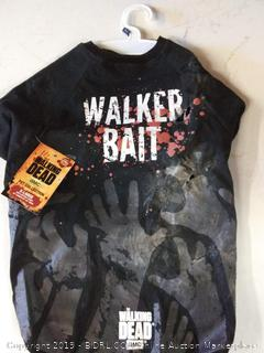 Pets Supply - Dog T-Shirt - The Walking Dead - Walker Bait Tee-XL