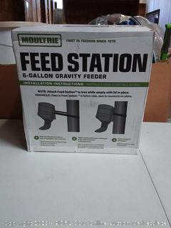 Moultrie Feed Station | Gravity Feeder | 6 Gallon | 40 lb. Capacity | Strap Included
