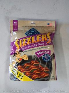 Blue Buffalo Sizzlers® Bacon-Style Dog Treats Original -- 15 oz