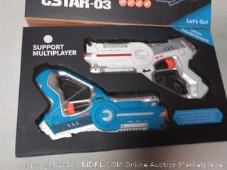 Infrared laser battle gun toy
