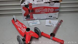Micro Scooter Mini Micro Deluxe – Red