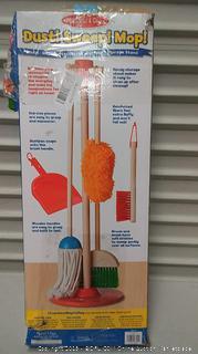 Melissa and Doug dust! sweep! mop!