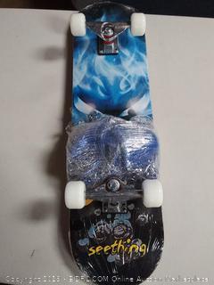 "HAIRUNFA -31"" x 8 "" Beginners Skateboard w/ Safety Pad set"