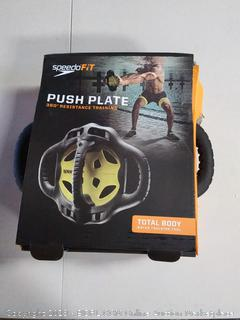 SpeedoFit Push Plate 360° Resistance Training- Total Body Water Training Tool