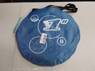 HIEMAO Pop UP Tent, Beach Sun Shelter/ Instant Sun Shade-Portable Baby Sun Cabana with Zipper Door