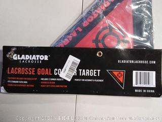 Lacrosse Goal Corner Target Shooter- Intermediate/ Beginner Level