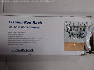 Fishing Rod Rack-Holds 12 Rods Overhead