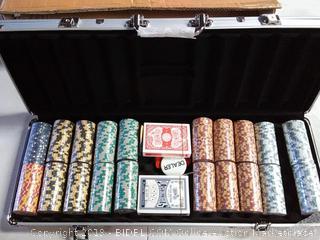 Monte Carlo 500 Poker Chip Set