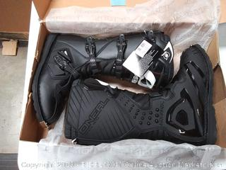 O'Neal Men's New Logo MX Rider Boot (Black, Size 10)