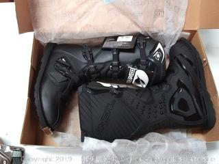 O'Neal Men's New Logo Rider MX Boot (Black, Size 10)