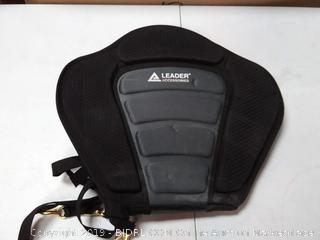Leader Accessories Black/Grey Deluxe Kayak Seat
