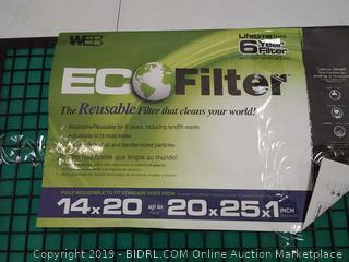 WEB Eco Filter Adjustable, 6 Year Filter