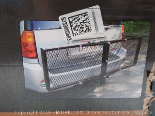 CURT 18109 500 lbs. Capacity Tray-Style Trailer Hitch Cargo Carrier