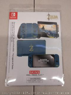 The Legend of Zelda Skin & Screen Protector Set