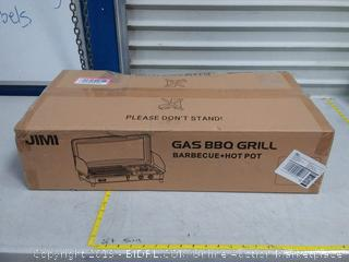 Jimi gas barbecue grill BBQ + hot pot( Factory sealed)