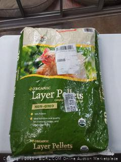 Manna Pro Organic Layer Pellets for Chickens, 30 lb *NO EXPIRATION DATE*