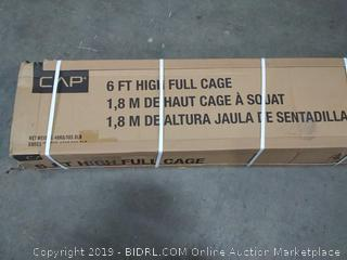 cap 6 ft high full cage