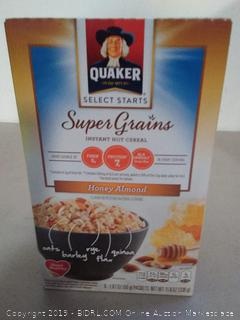 Breakfast Cereal Foods Quaker Instant Oatmeal, 6 boxes