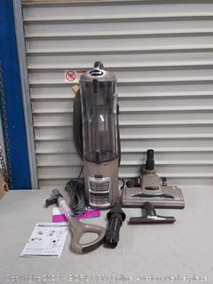 SharkNinja Canister Upright Vacuum, Gold/Silver(Powers On)