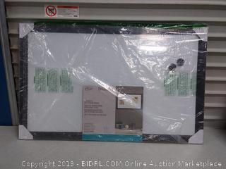 "Board Dudes 22"" x 35"" Home Decor Magnetic Dry Erase Board"