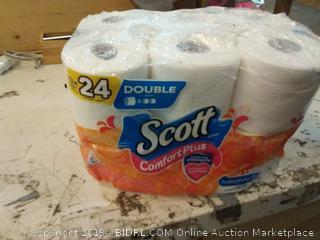 Scott Comfortplus Toilet Paper Bath Tissue, 12 Count