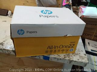 HP Paper All-in-One Printing Paper 22 lb 8.5x11 96 Bright (207010C)