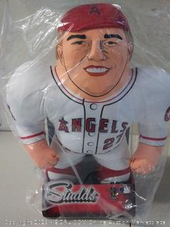 "Los Angeles Angels Trout M. #27, 24"" Player Plush Studd"