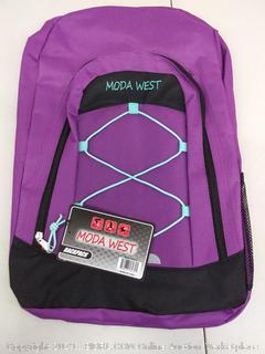 Moda West Backpack (purple)