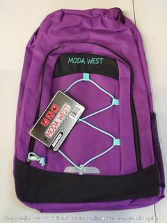 Moda West Backpack, Purple