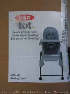 OXO Tot Seedling High Chair, Graphite/Dark Gray (Online $119.99)