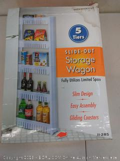 5 Tiers Slide-Out Storage Wagon