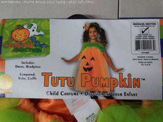 Rubies Pumpkin Tutu Dress Costume, Medium