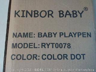 Kinbor Baby Portable Playpen