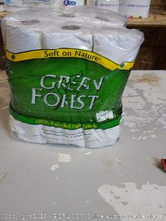Green Forest paper towels 6 rolls
