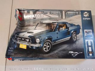LEGO Creator Expert Ford Mustang 10265 Building Kit (1471 Pieces) (Online $149.99)