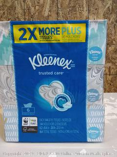 Kleenex tissues 6 boxes