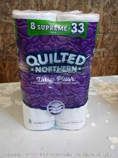 Quilted Northern Ultra plush toilet paper 16 rolls