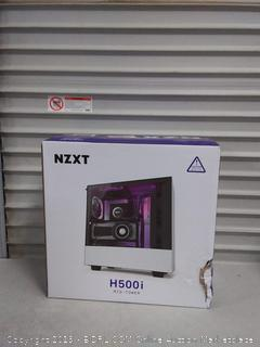 NZXT H500i - Compact ATX Mid-Tower PC Gaming Case - RGB Lighting and Fan Control - CAM-Powered Smart Device - Tempered Glass Panel - Enhanced Cable Management System(Broken Stand)
