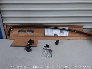 Zenna Home E35603HB01, NeverRust Aluminum Curved Shower Curtain Rod, 44 to 72-Inch, Bronze